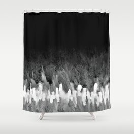 Inspiration Struck Shower Curtain