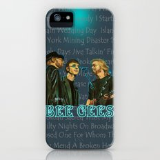 Bee Gee's Poster (Analog Zine) iPhone (5, 5s) Slim Case