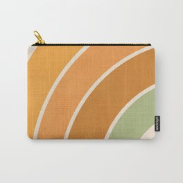 Retro curve Carry-All Pouch