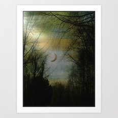 Poachers Moon Art Print