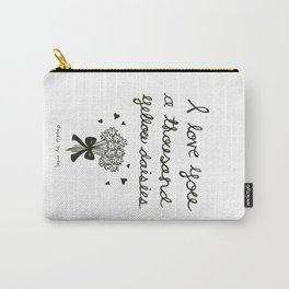 A thousand yellow daisies Carry-All Pouch
