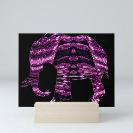 Elephant Shifting Mini Art Print