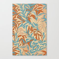 Motivo floral Canvas Print