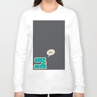sewing Long Sleeve T-shirts featuring sewing yo. by Go To Design