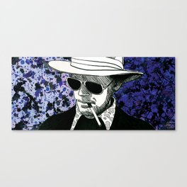 Hunter S. Thompson, Bat Country Canvas Print