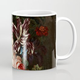 "Ernst Stuven ""Still life of flowers"" Coffee Mug"