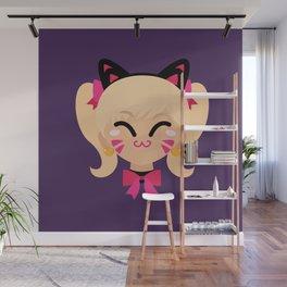 D.Va Cat Skin Wall Mural