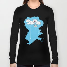 Young Clouds fooling around Long Sleeve T-shirt