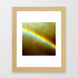 in rainbows Framed Art Print