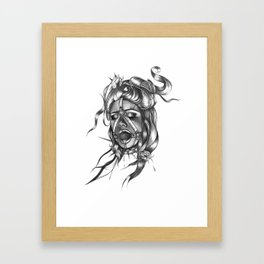 RedBall Framed Art Print