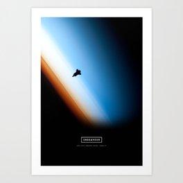 Endeavour Art Print