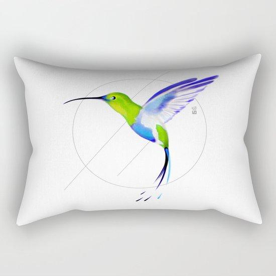 Under the Sign of Colibri Rectangular Pillow