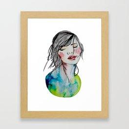 Kindness is an inner desire Framed Art Print