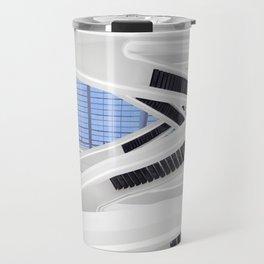 Zaha H A D I D | architect | Dominion Office Building Travel Mug
