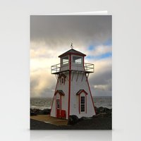 lighthouse Stationery Cards featuring Lighthouse by Sartoris ART
