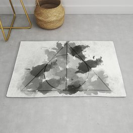 The Gifts Black and White Version Rug