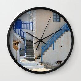 The Greek Village, Milos Wall Clock