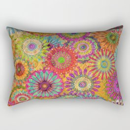 Mysterious Mandalas Rectangular Pillow
