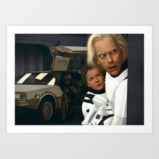 I Find Your Lack Of Jiggawatts Disturbing/Landscape Edition Art Print