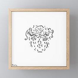 The Nerdy Professor Framed Mini Art Print