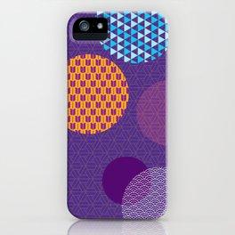 Japanese Patterns 07 iPhone Case