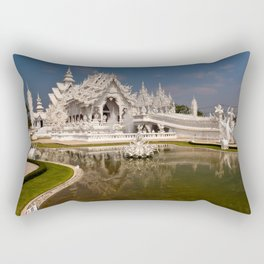 White Temple Rectangular Pillow