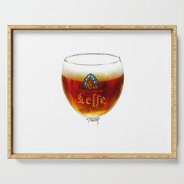 Beer from Belgium Serving Tray