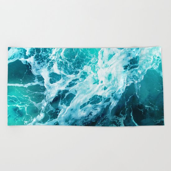Out there in the Ocean Beach Towel
