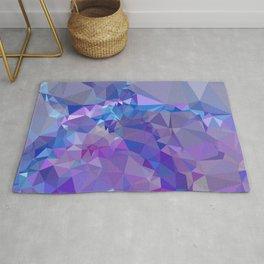 Abstract mosaic pattern Rug