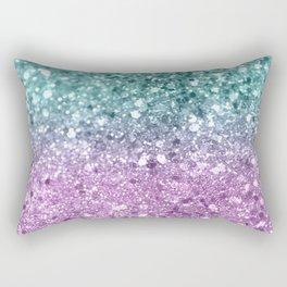 Mermaid Girls Glitter #6 #shiny #decor #art #society6 Rectangular Pillow