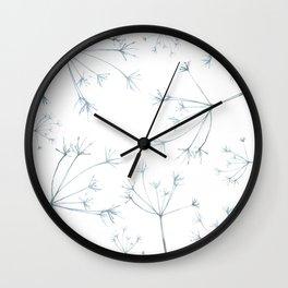 Hedgerow Seeds Wall Clock