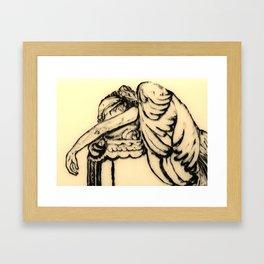 The Guardian Angel Framed Art Print