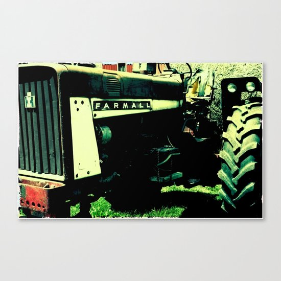 Tractor Time Canvas Print