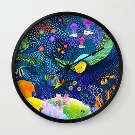 Ocean Tropical Fish Life Wall Clock