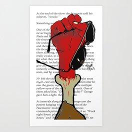 Awarness Art Print