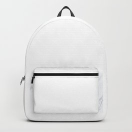 You girls are so pretty, you should smile Marble Backpack