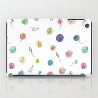 plane iPad Cases featuring Plane by Infra_milk