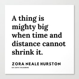 Zora Neale Hurston Quotes | 14 | 20062 | Black Writers | Motivational Quotes For Life| Canvas Print