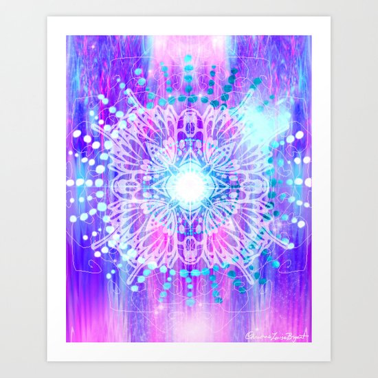 Sahasrara - Chakra 7 Art Print