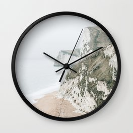 Sea Cliffs Wall Clock