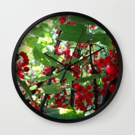 Super Fruit - We be jamming! Wall Clock
