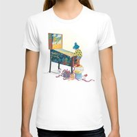 gamer T-shirts featuring Gamer  by Lesley Vamos