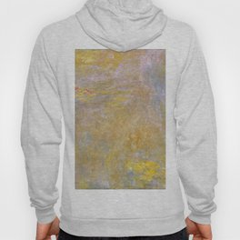 Sea-Roses (Yellow Nirwana) by Claude Monet Hoody