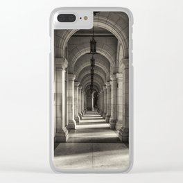 Underneath the arches in Havana, Cuba Clear iPhone Case