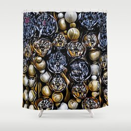 Jingle Bells  - Graphic 1 Shower Curtain