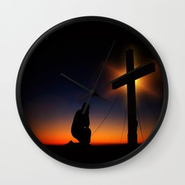 Humility Wall Clock