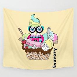 Ice cream yum! Wall Tapestry