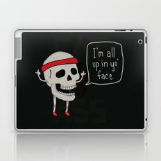 Skull in your Face Laptop & iPad Skin