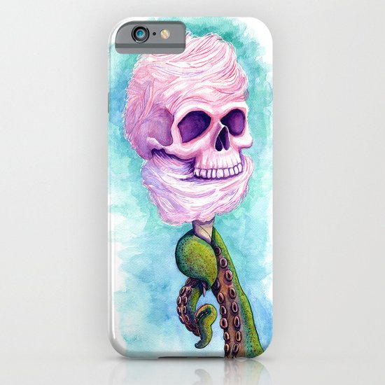 Cotton Candy Cthulhu iPhone & iPod Case
