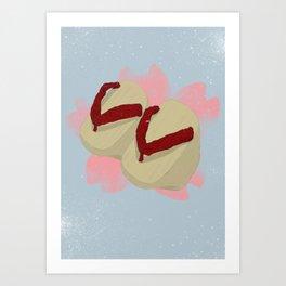 Okobo Geta 2 Art Print